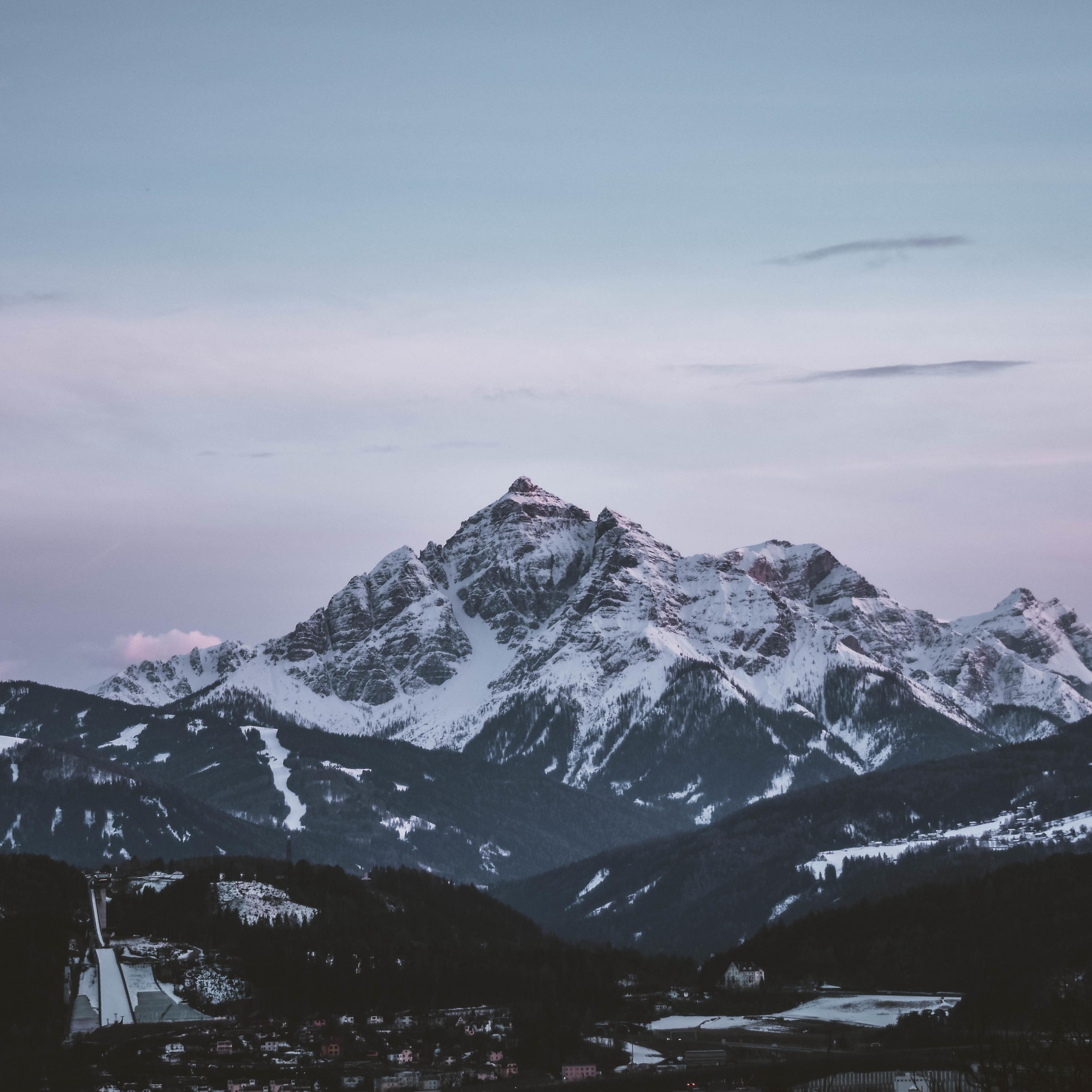 Must see Wallpaper Mountain Ipad Pro - dawn-mountains-sky  2018_84851.jpg