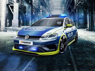 Oettinger Volkswagen Golf 400r, tune it safe, car, 320x240 wallpaper