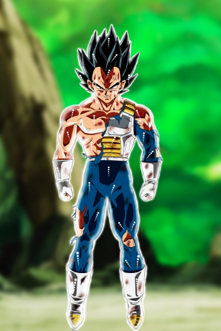 Download 240x320 Wallpaper Vegeta Dragon Ball Anime Boy Old Mobile Cell Phone Smartphone 240x320 Hd Image Background 964