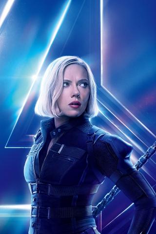 Download 240x320 Wallpaper Avengers Infinity War Black