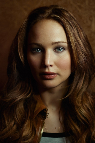 Download 240x320 Wallpaper Jennifer Lawrence Blue Eyes Beauty Old
