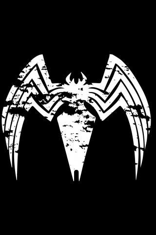 Download 240x320 Wallpaper Venom Logo Villain Minimal Old Mobile