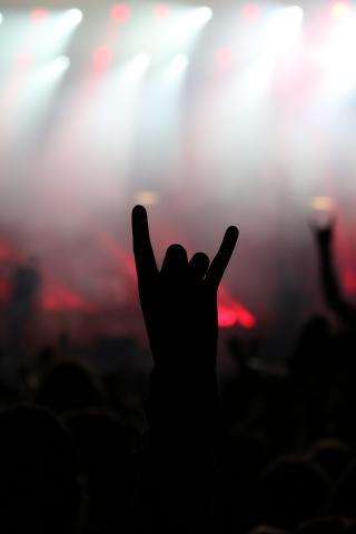 Download 240x320 Wallpaper Rock Party Music Concert Dance