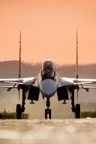 Download 240x320 Wallpaper Sukhoi Su 30 Fighter Aircraft