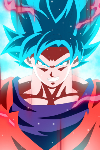 Download 240x320 Wallpaper Son Goku Full Energy Anime Old Mobile Cell Phone Smartphone 240x320 Hd Image Background 6296