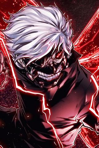Download 240x320 Wallpaper Ken Kaneki Angry Anime Boy Old