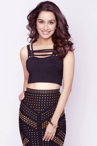 Download 240x320 Wallpaper Sexy Smile Bollywood Shraddha Kapoor
