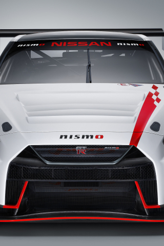 Download 240x320 Wallpaper Nissan Gt R Nismo Gt3 Nismo 2018 Car