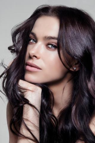 Celebrity, long hair, pretty, Elena Temnikova, 240x320 wallpaper