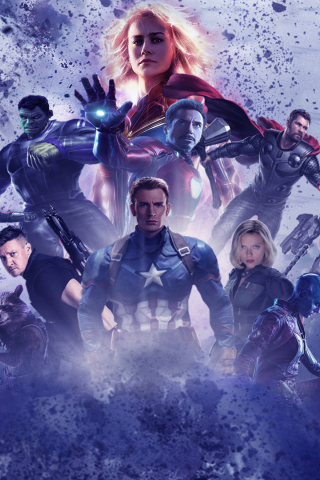 Avengers Endgame Hd Wallpaper For Mobile Play Movies One