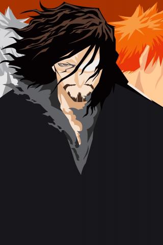 Download 240x320 Wallpaper Bleach Anime Boys Art Old