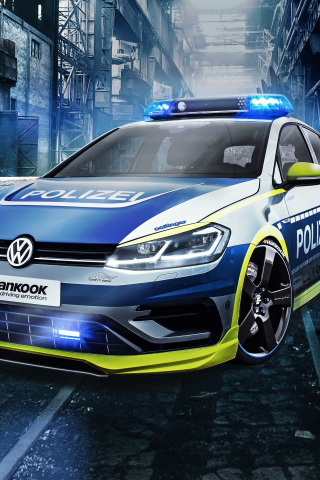 Oettinger Volkswagen Golf 400r, tune it safe, car, 240x320 wallpaper