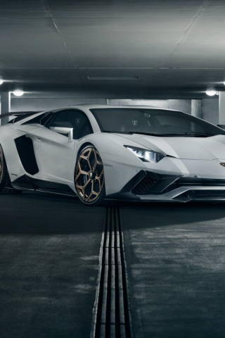 Download 240x320 Wallpaper 2018 Car Lamborghini Aventador S