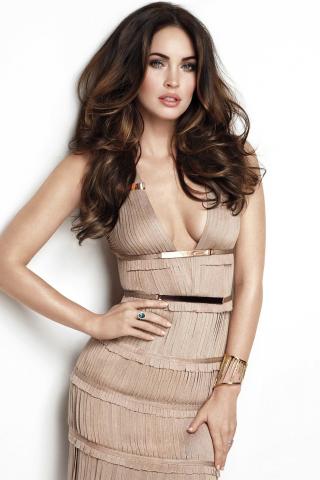 Megan fox, hot model, actress, celebrity, 320x480 wallpaper
