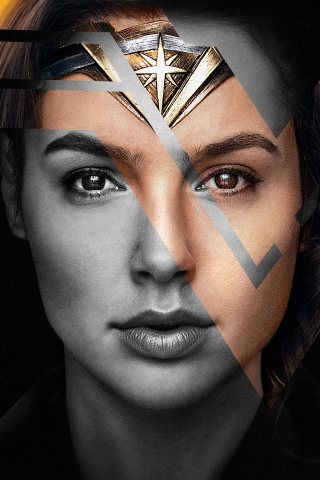 Wonder woman, gal gadot, justice league, actress, 320x480 wallpaper
