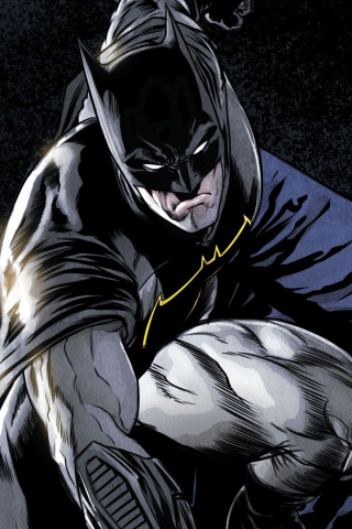 Comics, batman, dark knight, superhero, 320x480 wallpaper