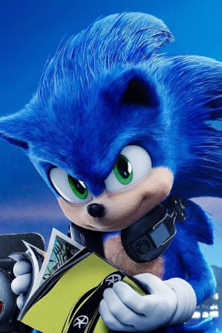 Download 320x480 Wallpaper Sonic The Hedgehog 2020 Movie