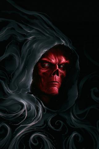 Download 320x480 Wallpaper Stone Keeper Villain Marvel