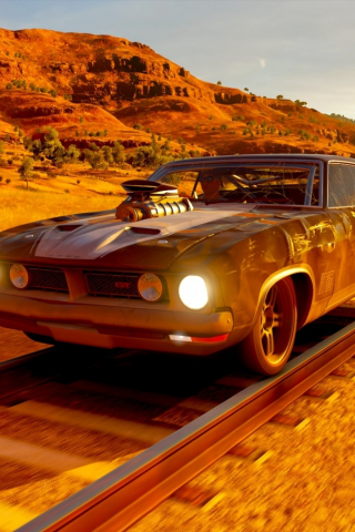 Download 240x320 wallpaper forza horizon 3, video game, ford