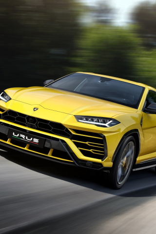 Download 240x320 Wallpaper Lamborghini Urus, Car, On Road, Old Mobile, Cell  Phone, Smartphone, 240x320 Hd Image, Background, 1606
