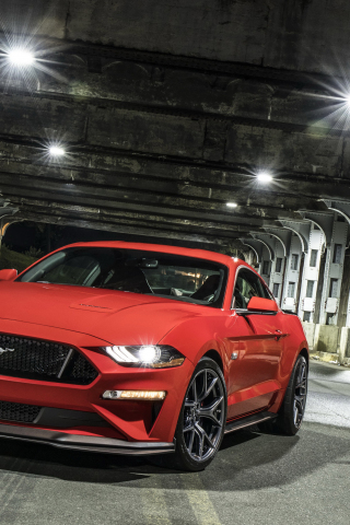 Download 240x320 Wallpaper 2018 Ford Mustang Gt
