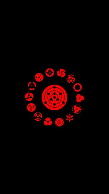 Download 360x640 Wallpaper Logo Minimal Naruto Nokia N8