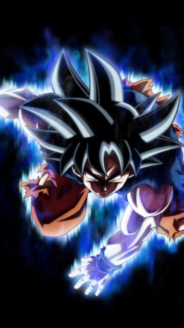 Dragon ball super, Super Saiyan, goku, 360x640 wallpaper