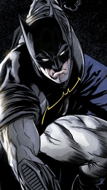 Comics, batman, dark knight, superhero, 360x640 wallpaper