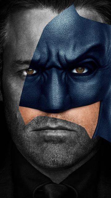Batman, Ben Affleck, justice league, movie, 360x640 wallpaper