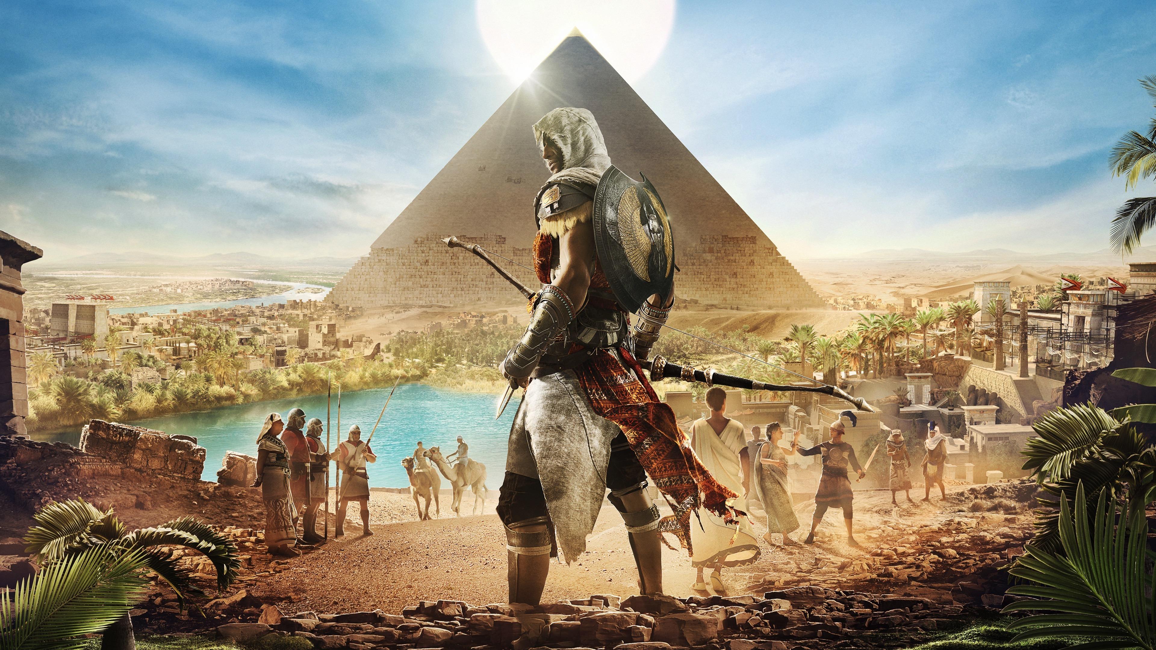 Download 3840x2160 Wallpaper Assassin S Creed Origins