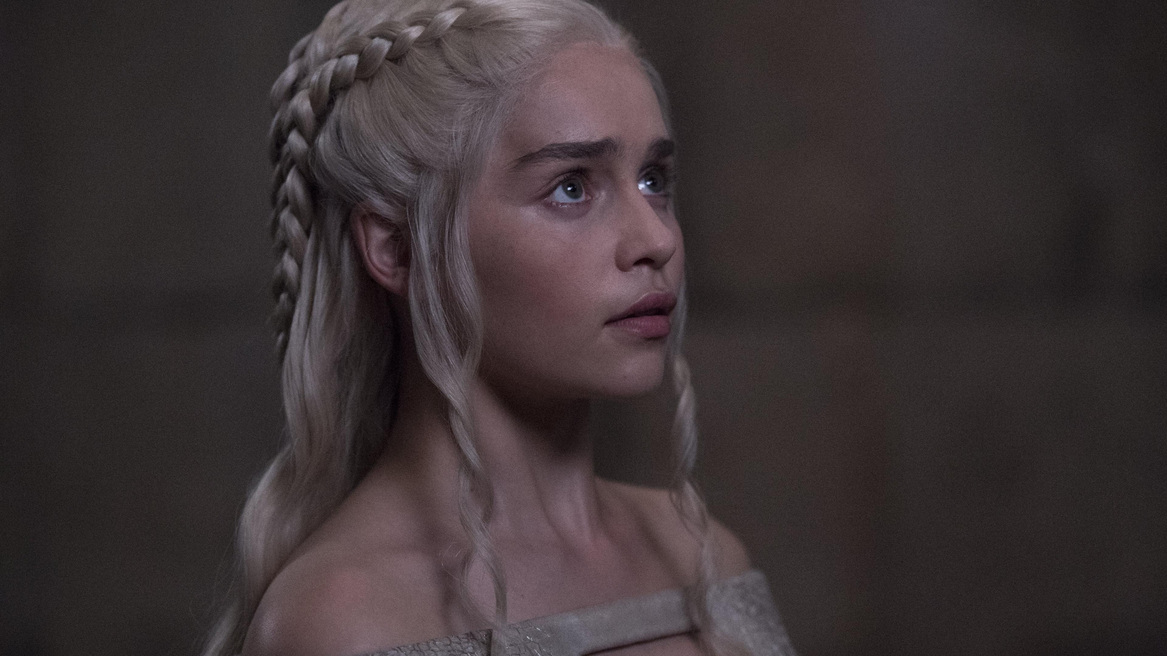 Download 3840x2160 Wallpaper Curious Daenerys Targaryen