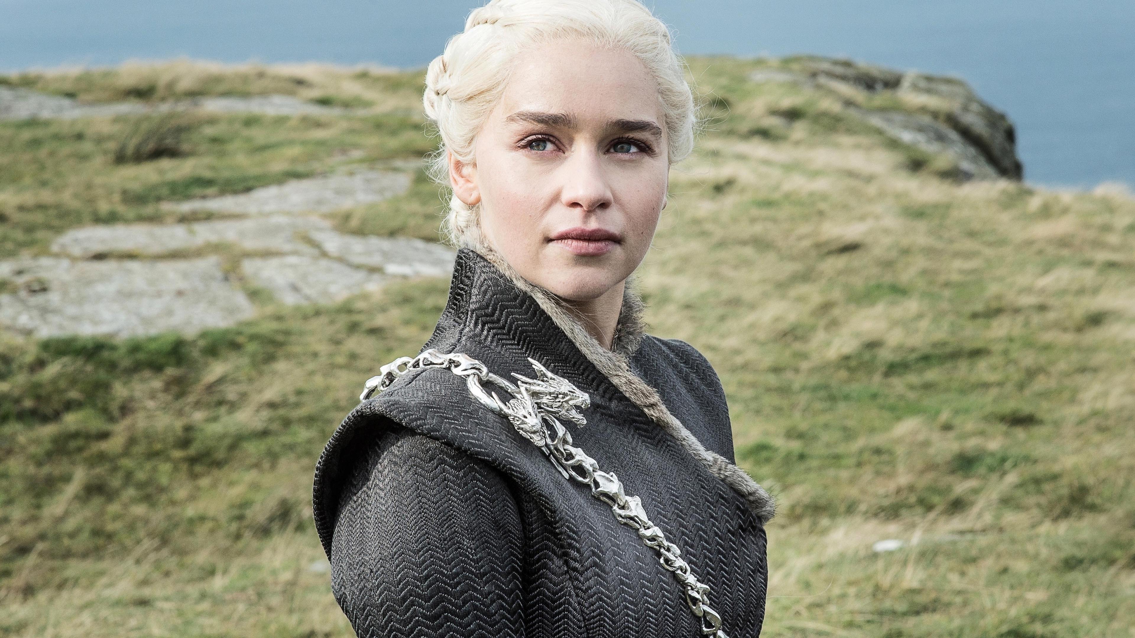 Download 3840x2160 Wallpaper Beautiful Daenerys Targaryen