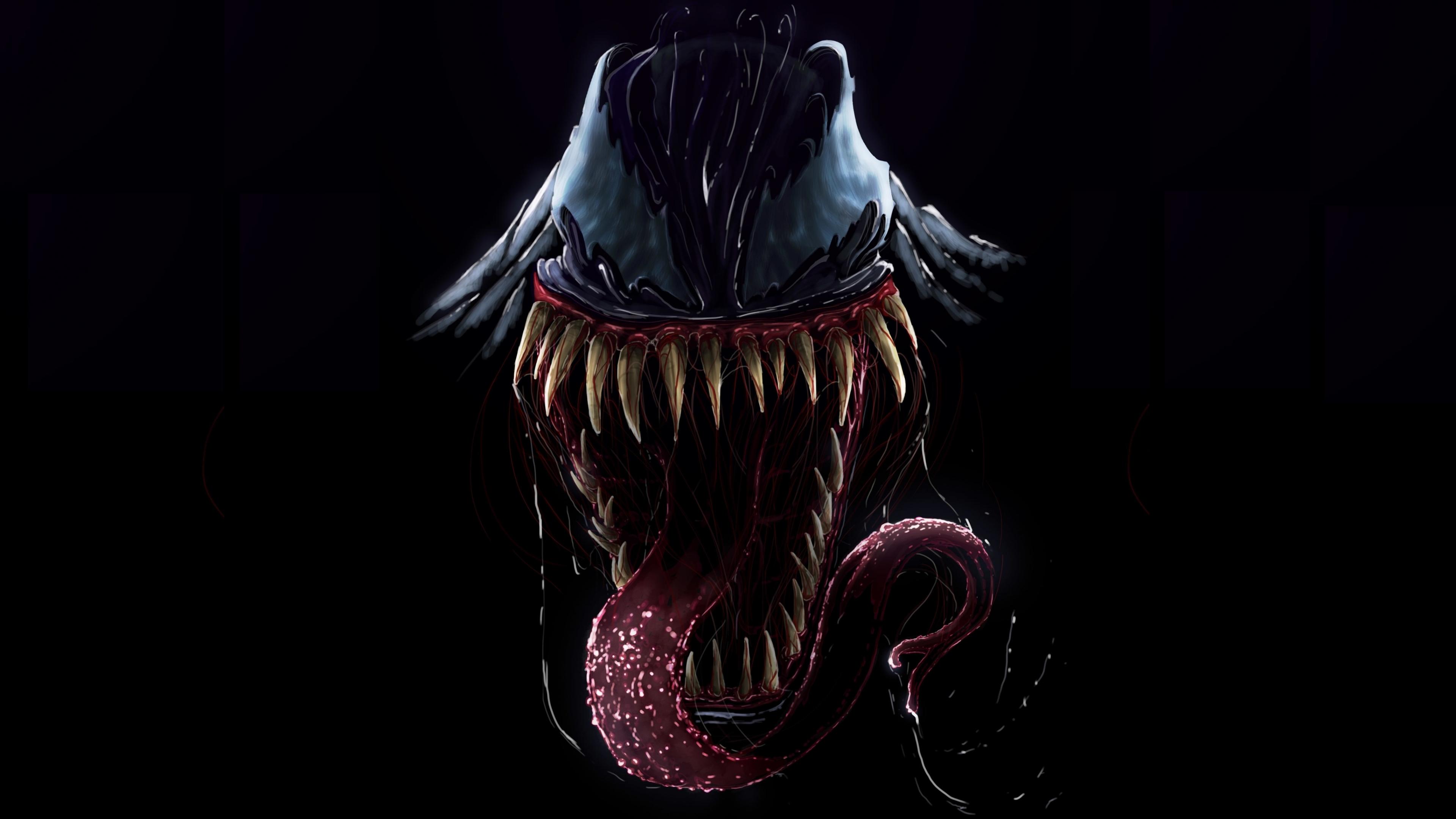 Download 3840x2160 Wallpaper Artwork Villain Venom 4k