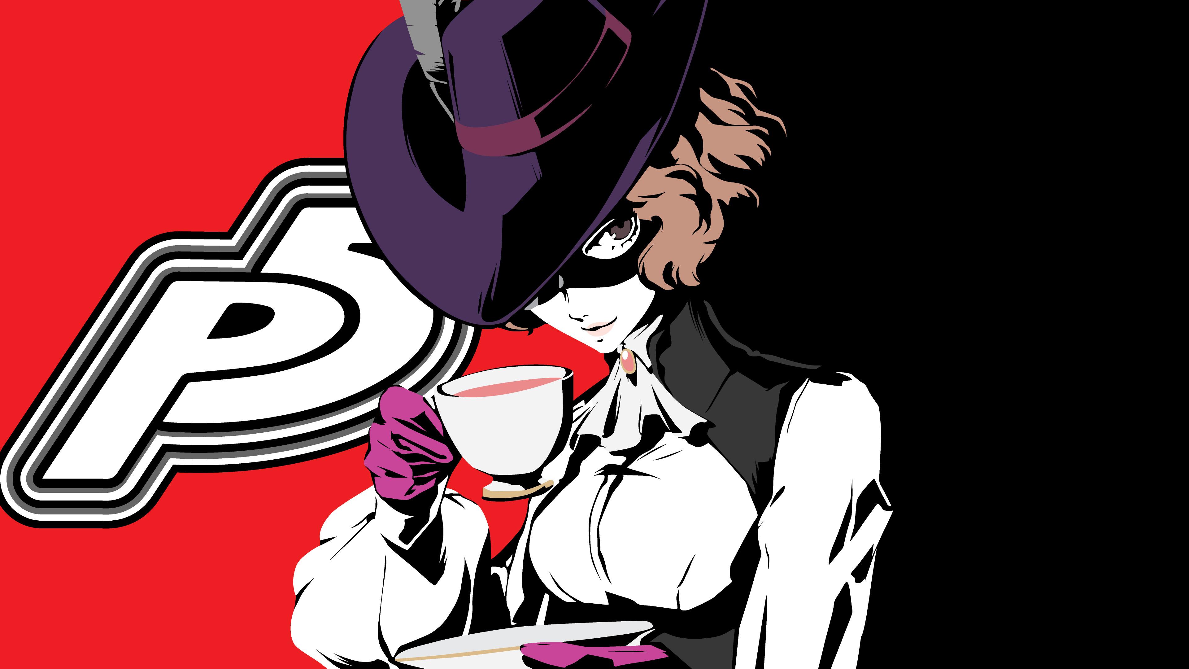 Anime girl, Persona 5, Video game, 3840x2160 wallpaper