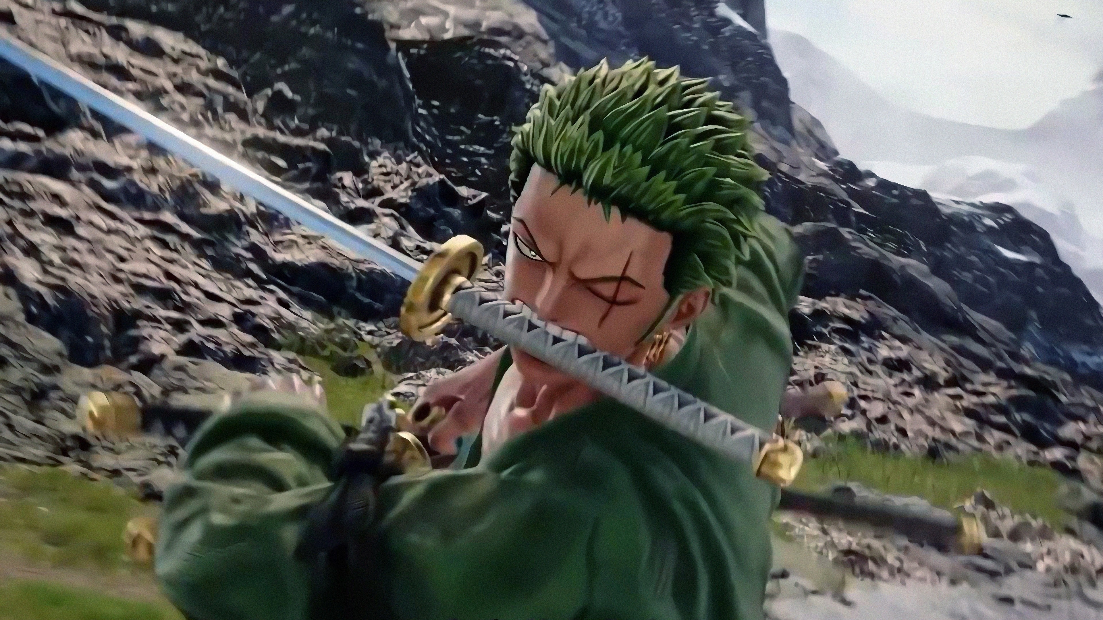 Download 3840x2160 Wallpaper Video Game Jump Force Roronoa