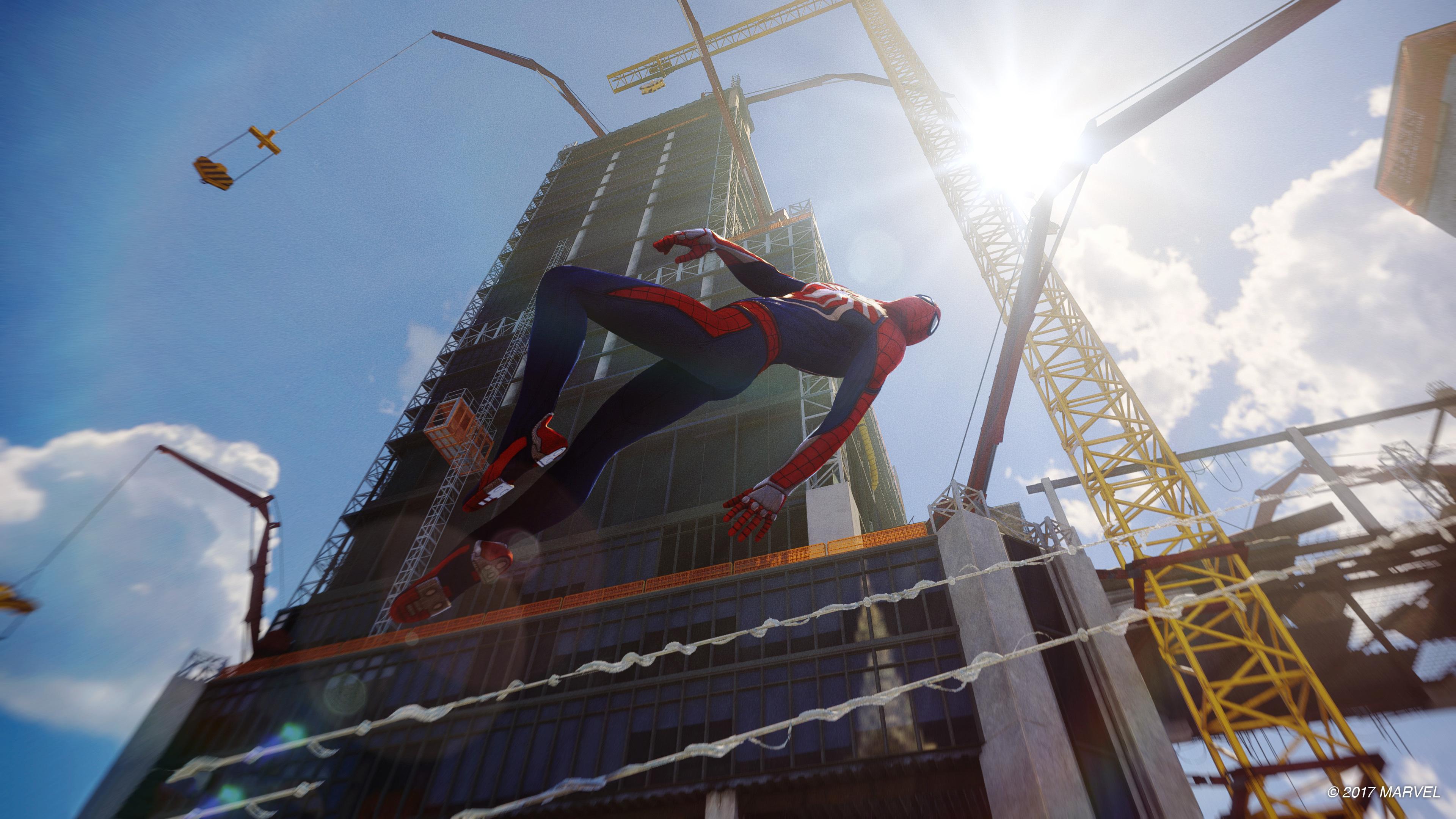 Download 3840x2160 Wallpaper Spider Man Ps4 Pro Video