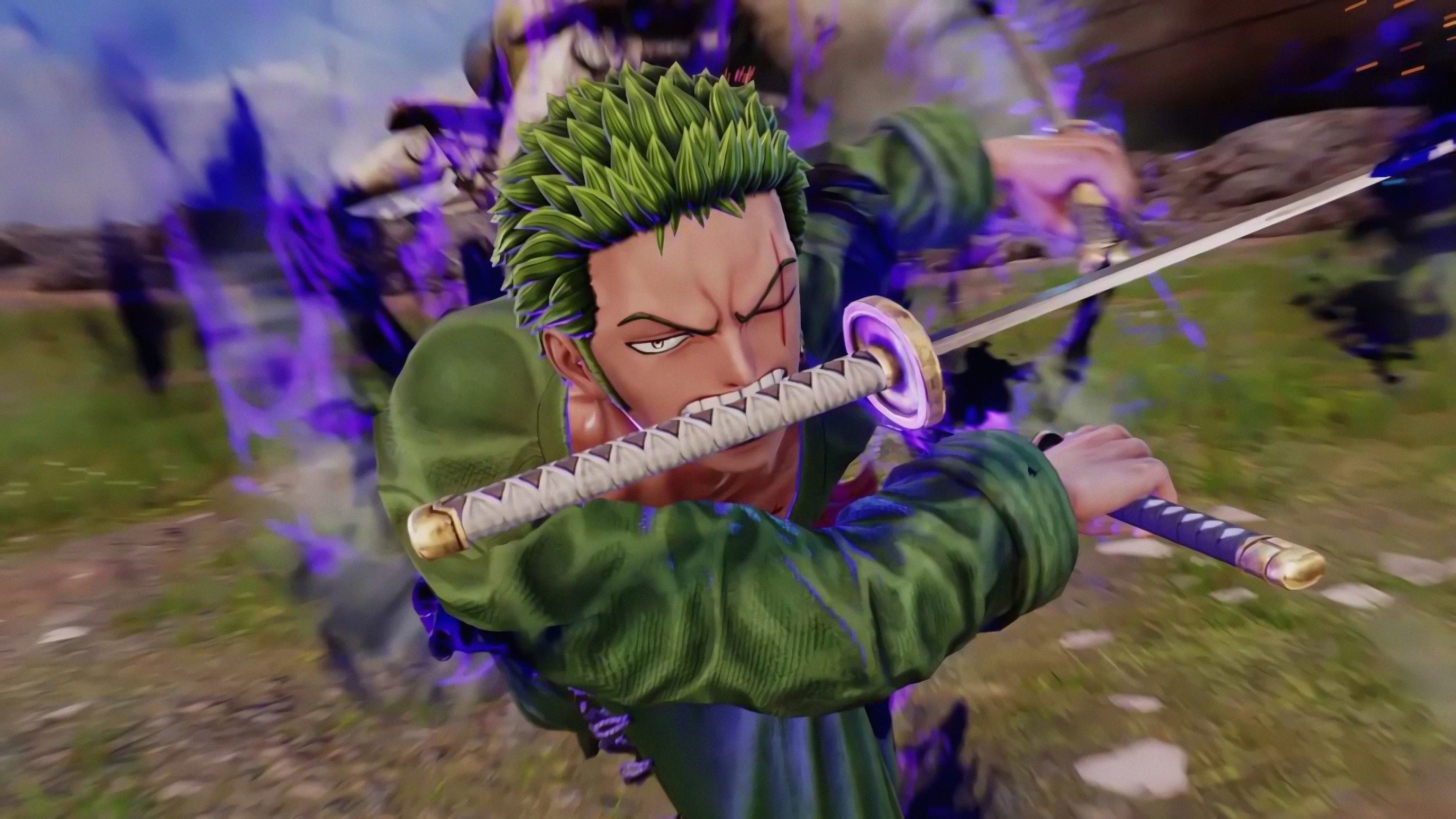 Download 3840x2160 Wallpaper Jump Force Roronoa Zoro Video Game One Piece Anime 4k Uhd 16 9 Widescreen 3840x2160 Hd Image Background 19059