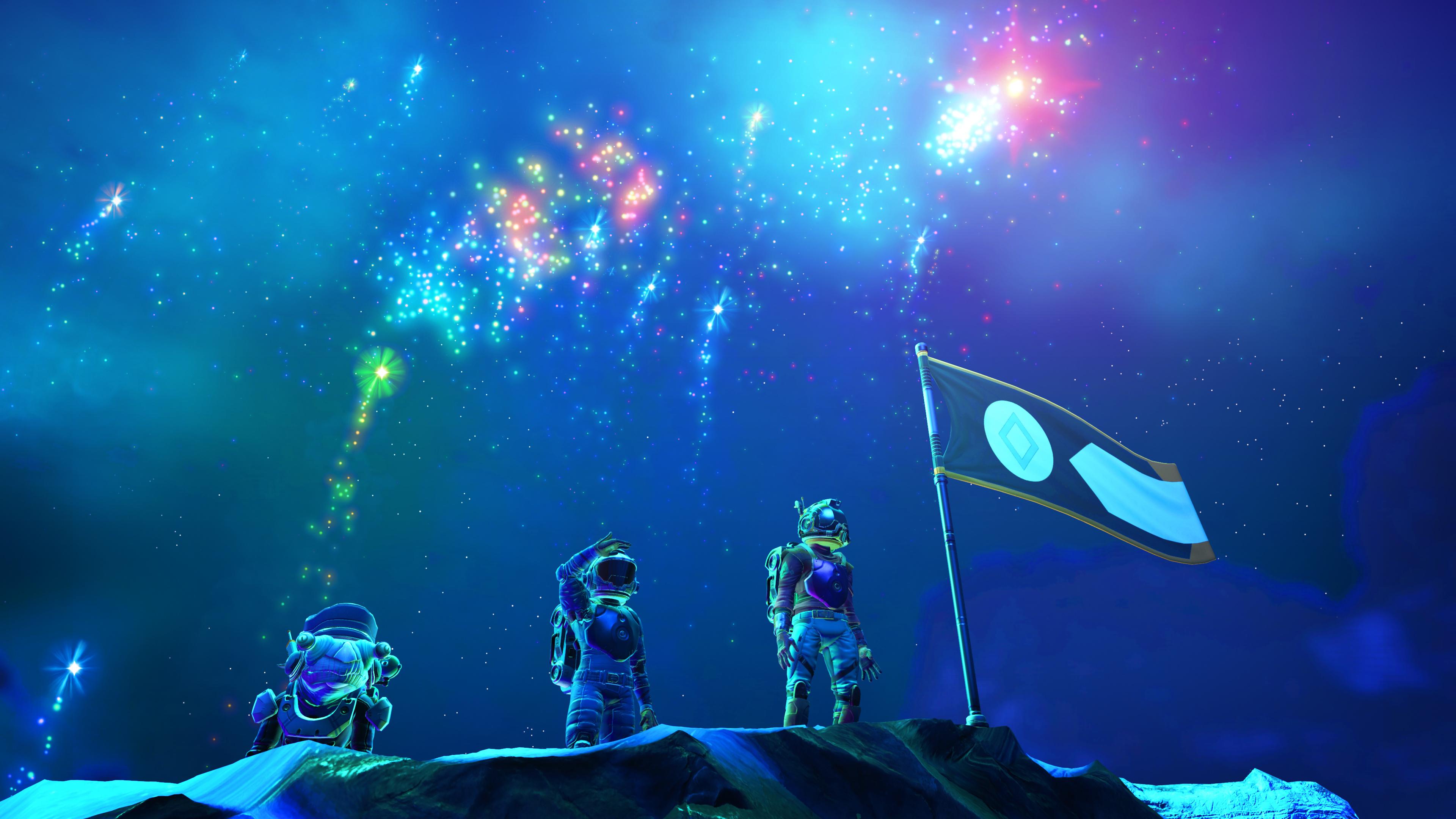 Download 3840x2160 Wallpaper No Man S Sky Visions Astronaut