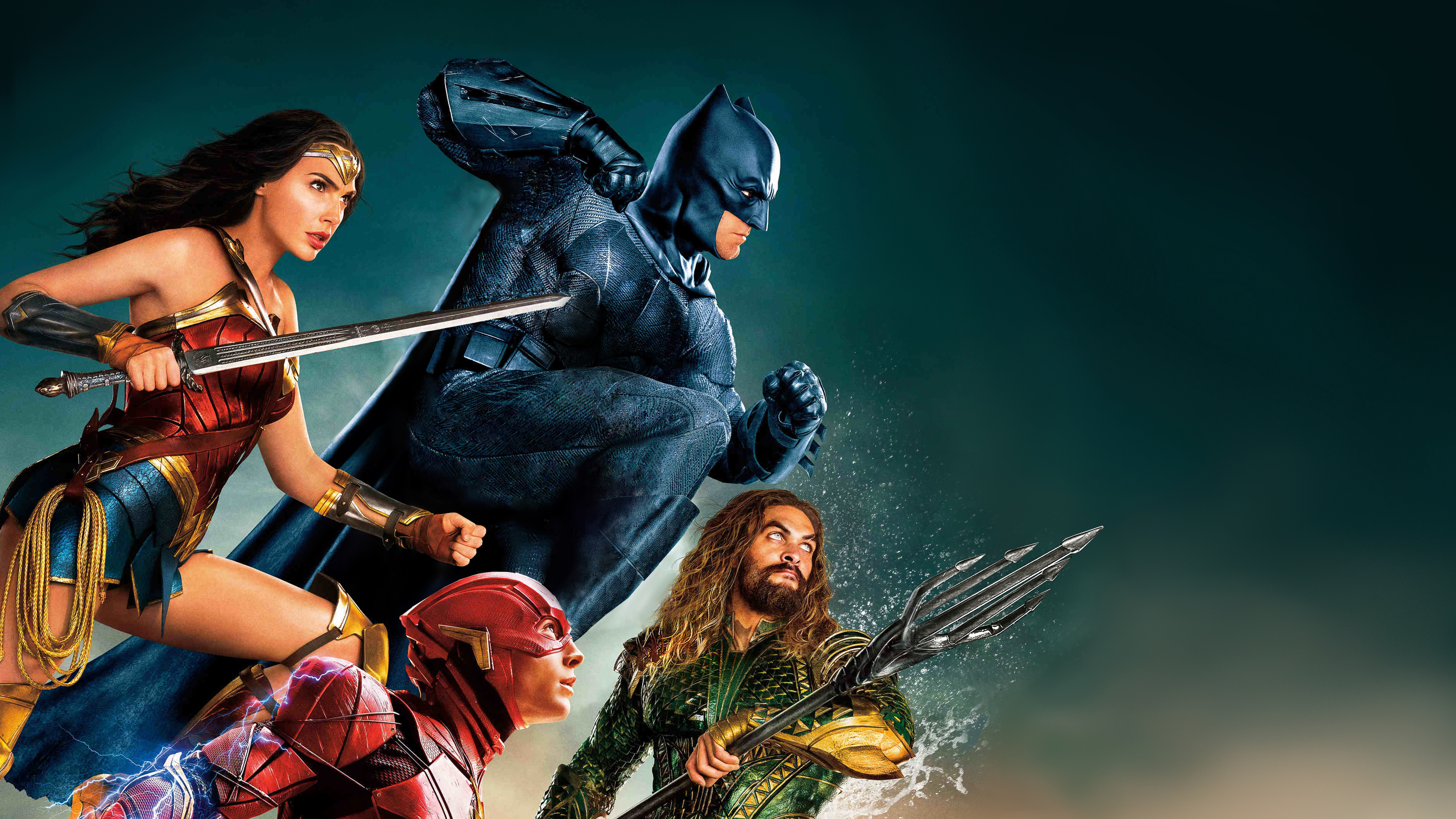 Justice league, movie, superheroes, 3840x2160 wallpaper