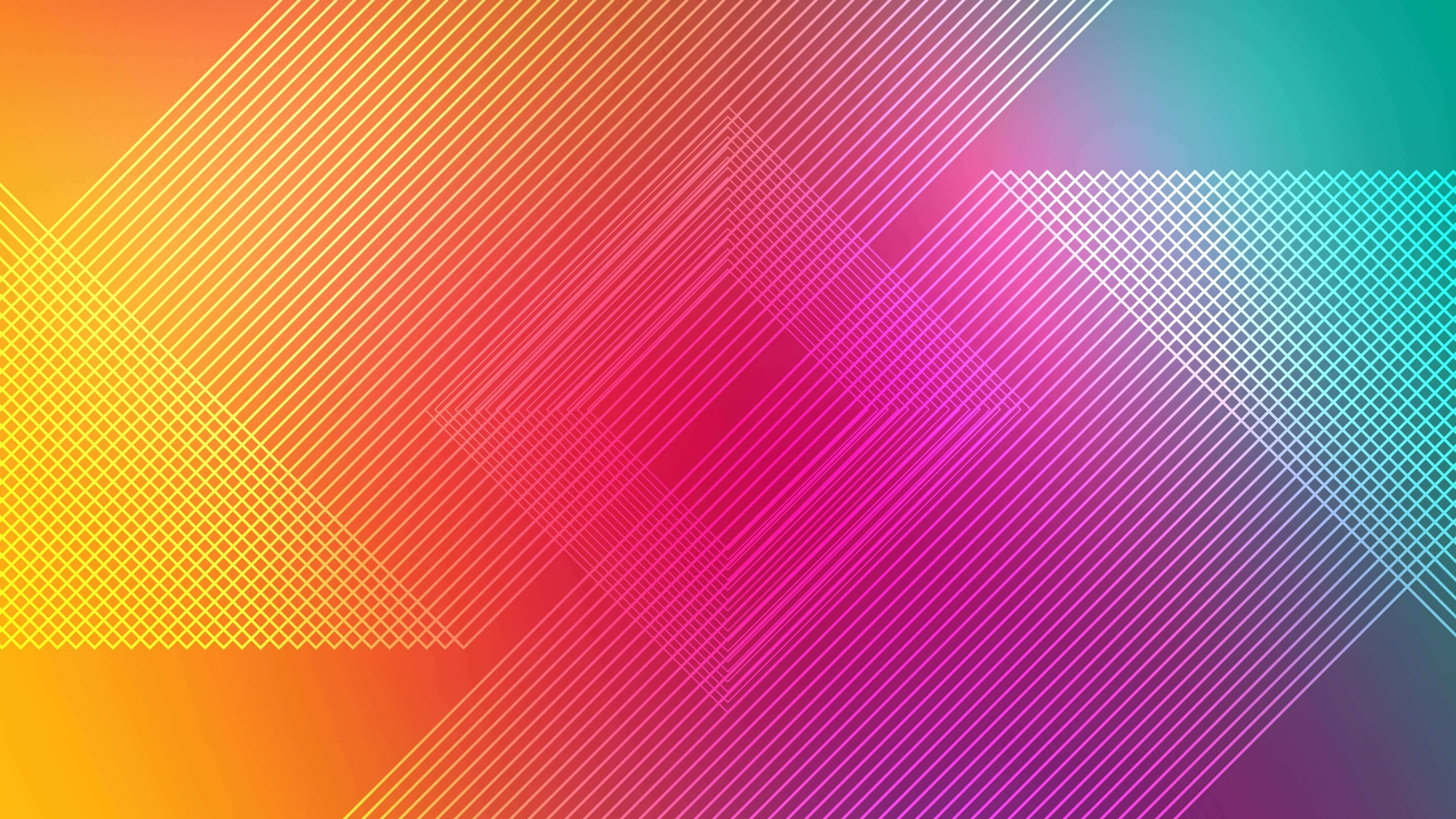 Wallpapers Samsung Galaxy Note 5 Ultra Hd 2160 3840 78: Download 3840x2160 Wallpaper Multicolor, Abstract, Lines