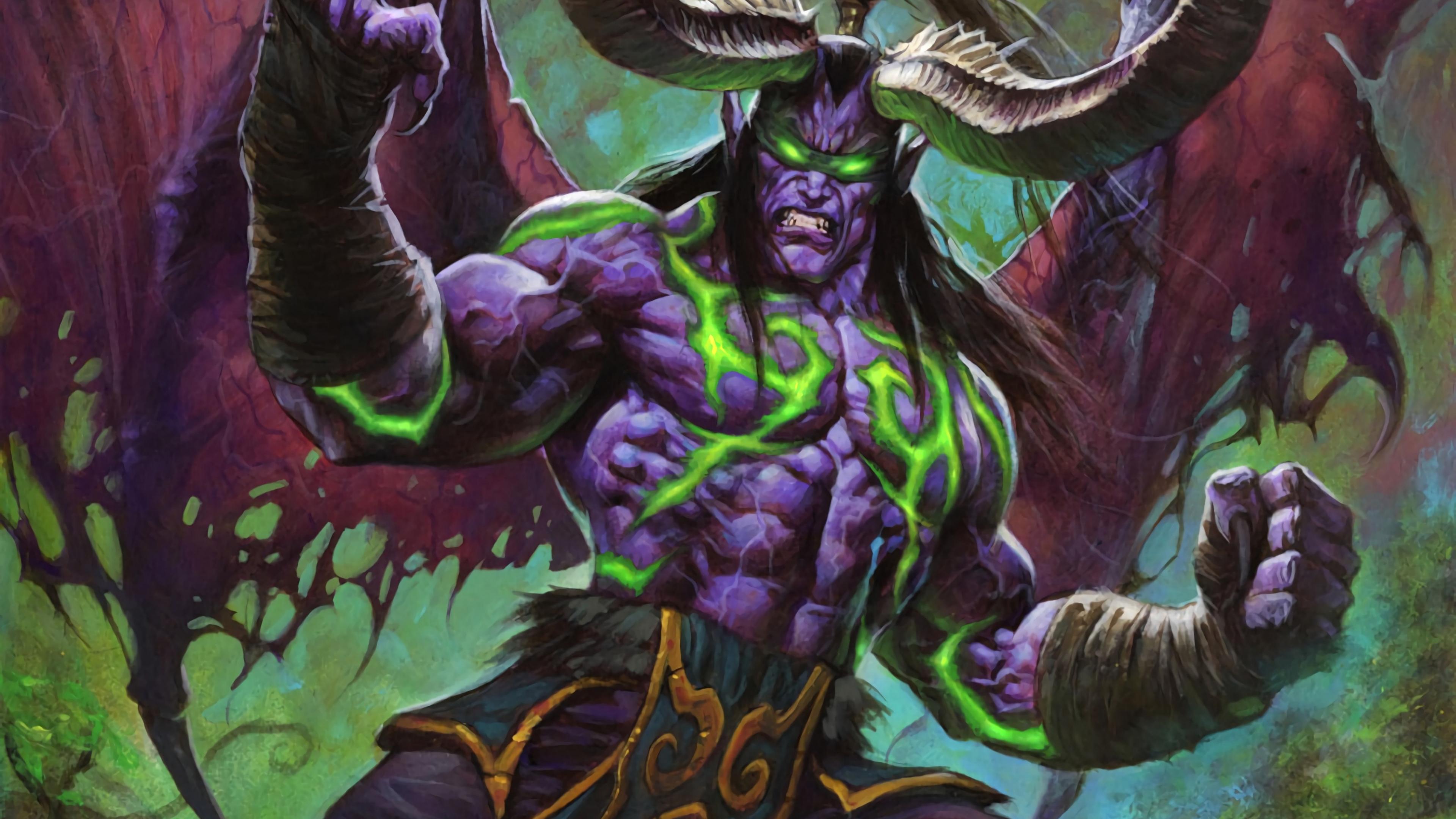 Download 3840x2160 Wallpaper Monster World Of Warcraft