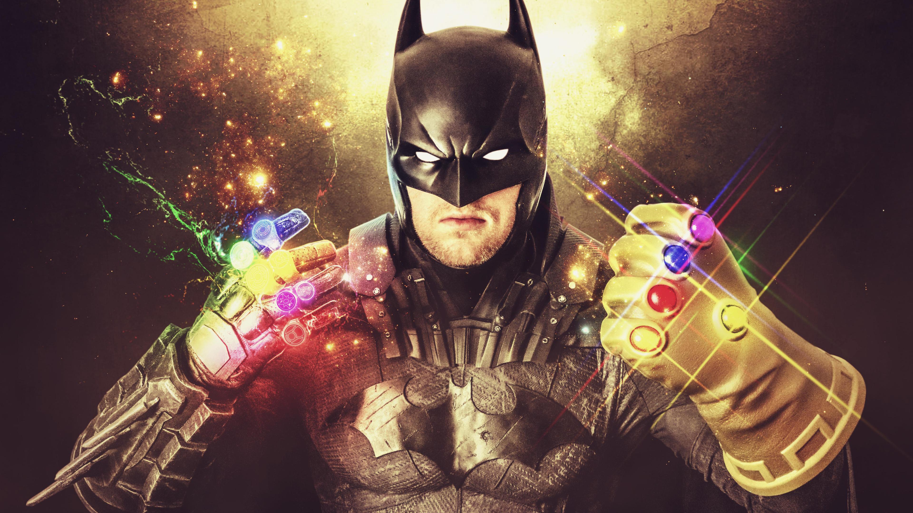 Download 3840x2160 Wallpaper Supreme Power Batman With