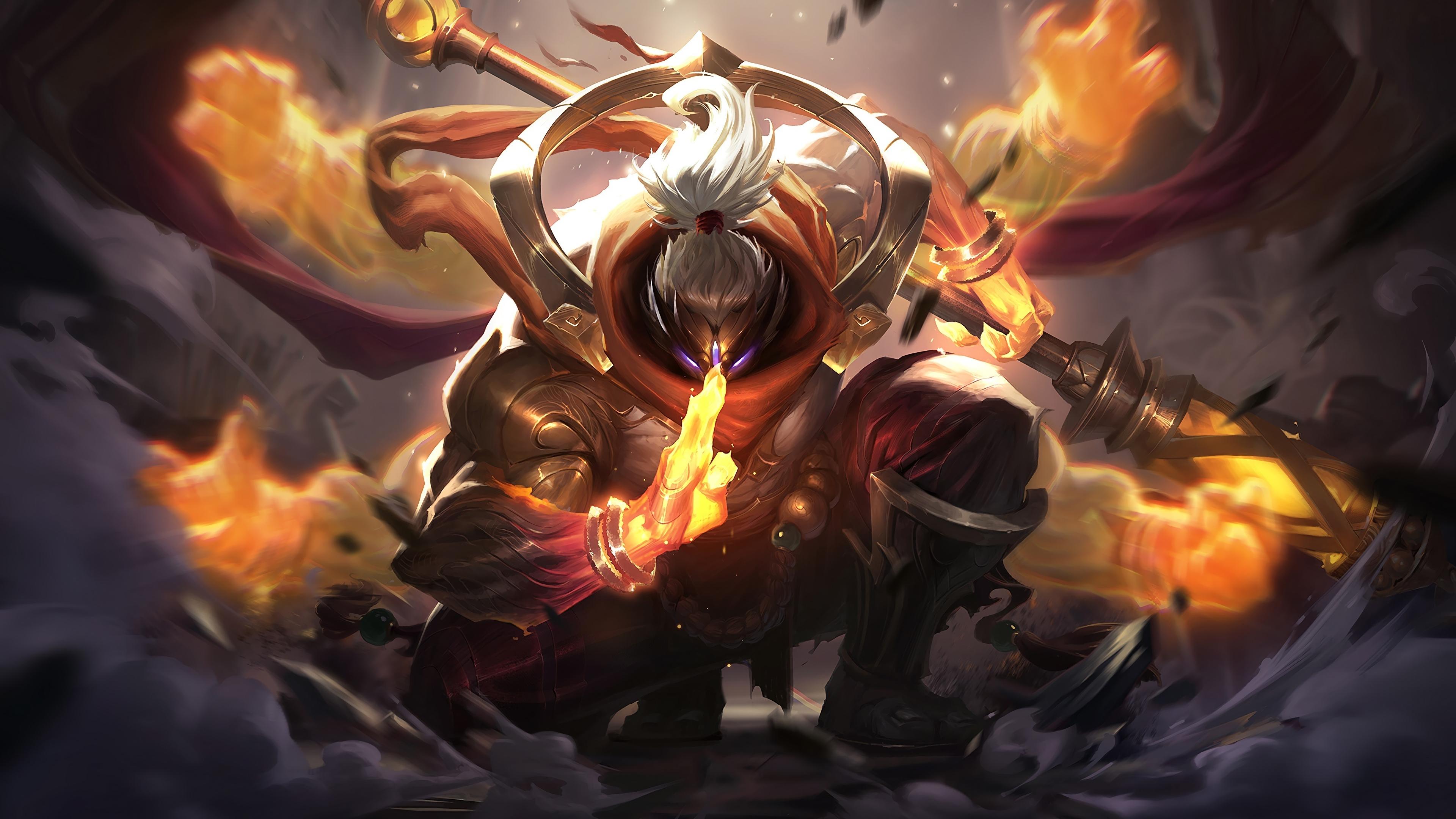 Download 3840x2160 Wallpaper Jax League Of Legends Warrior