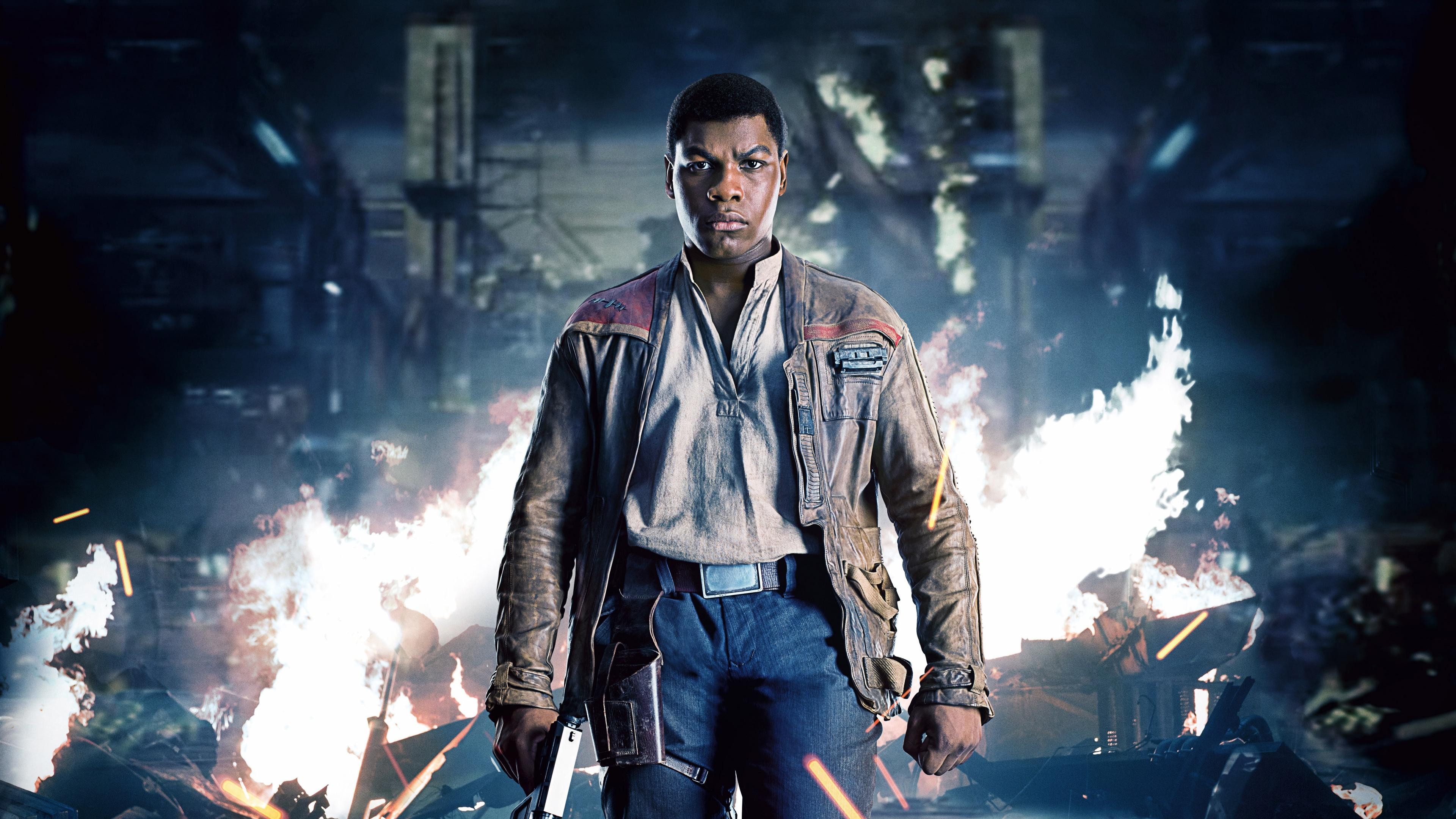 Download 3840x2160 Wallpaper Star Wars The Last Jedi John Boyega