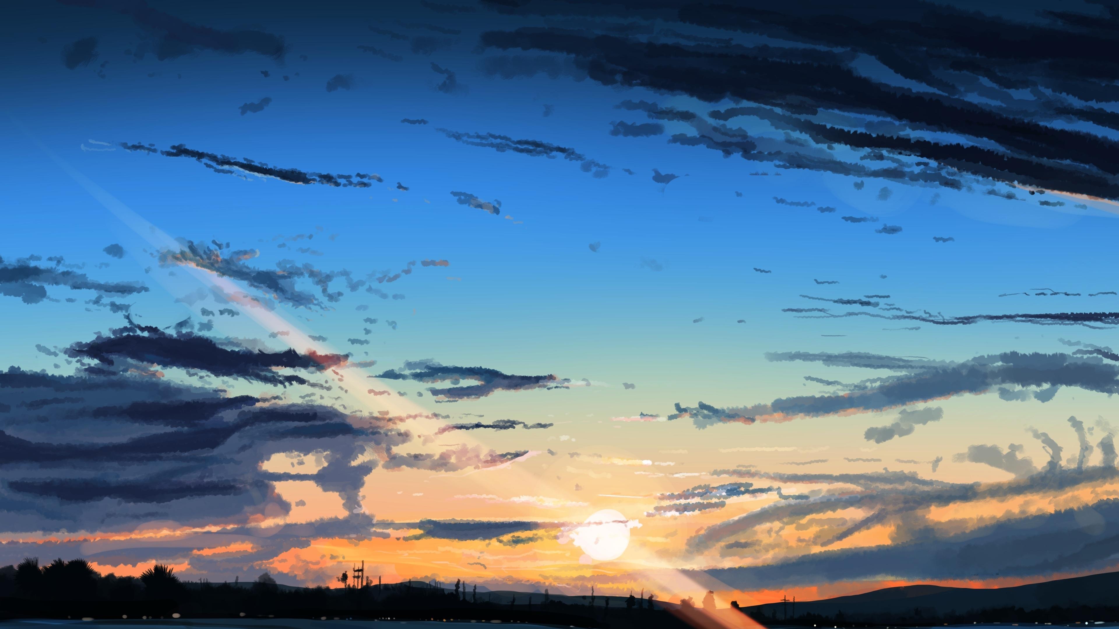 Anime Landscape Wallpaper 4k Materi Pelajaran 8