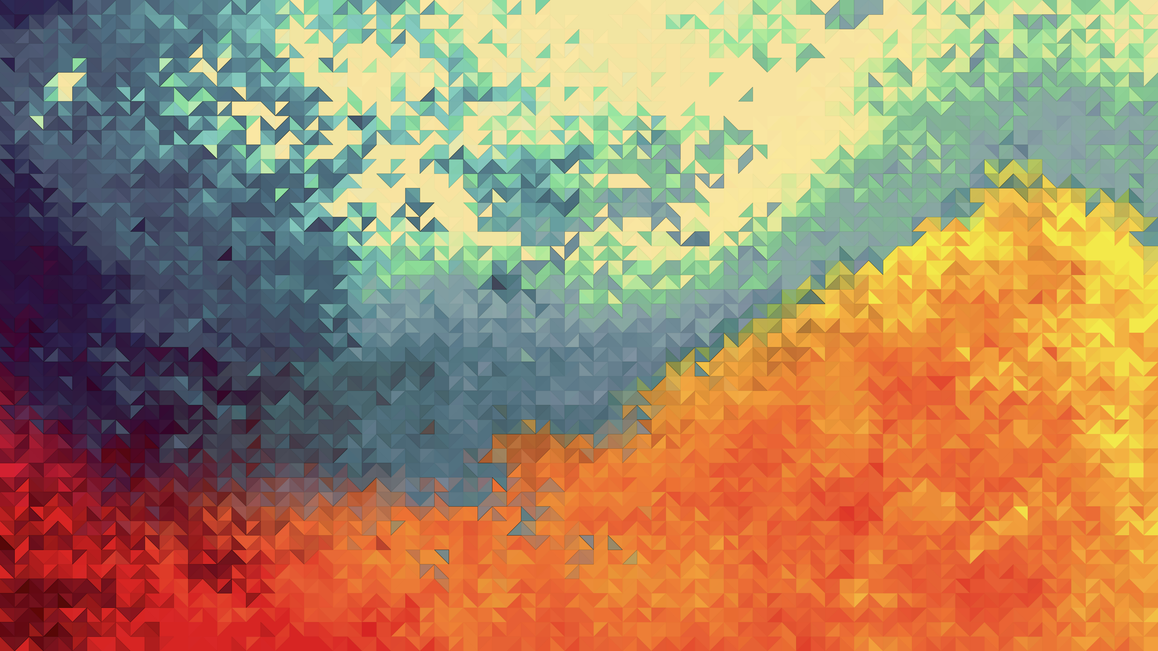 Download 3840x2160 wallpaper colorful, geometry, abstract ...