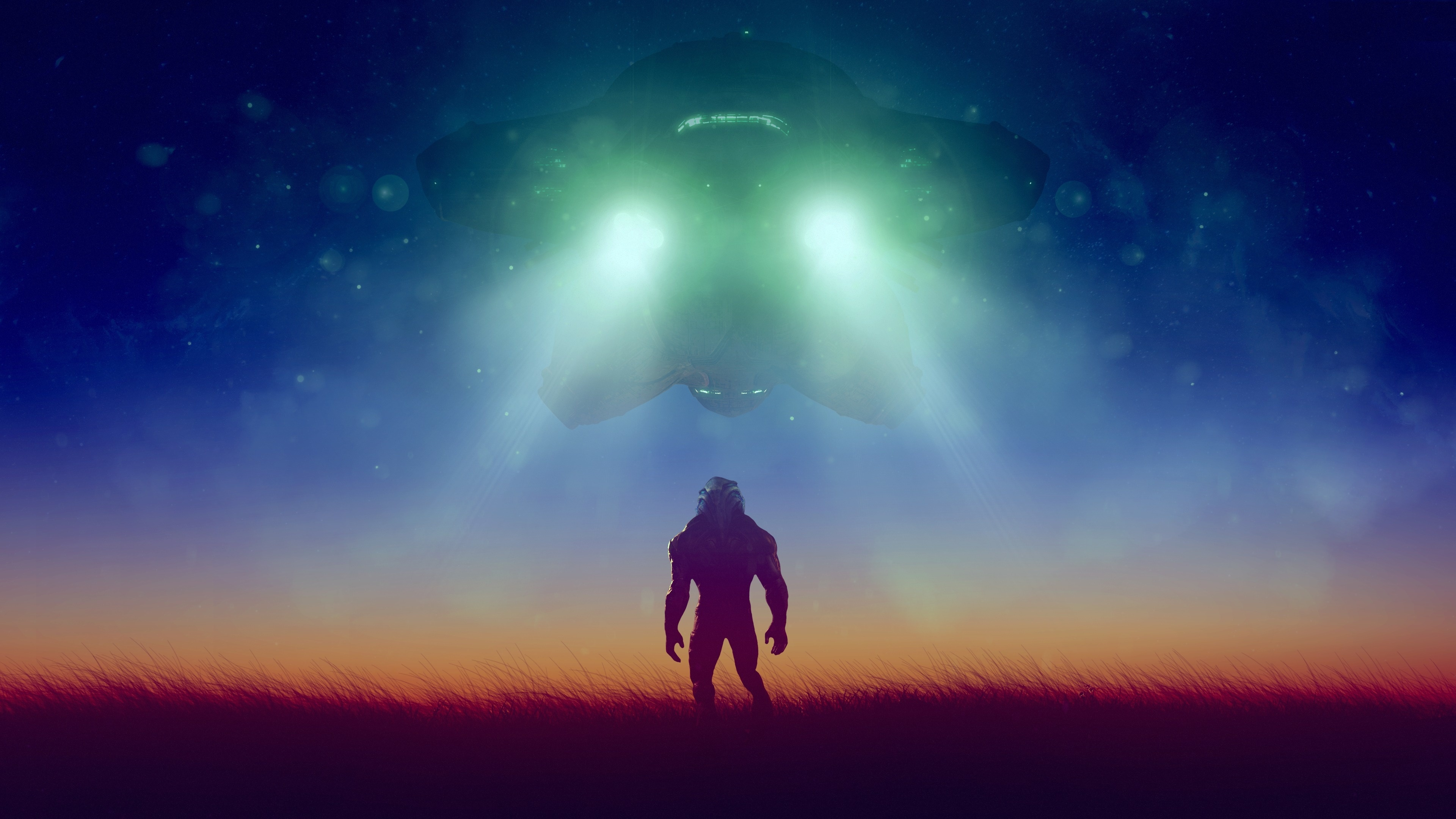 Download 3840x2400 Wallpaper Mass Effect Andromeda Extermination