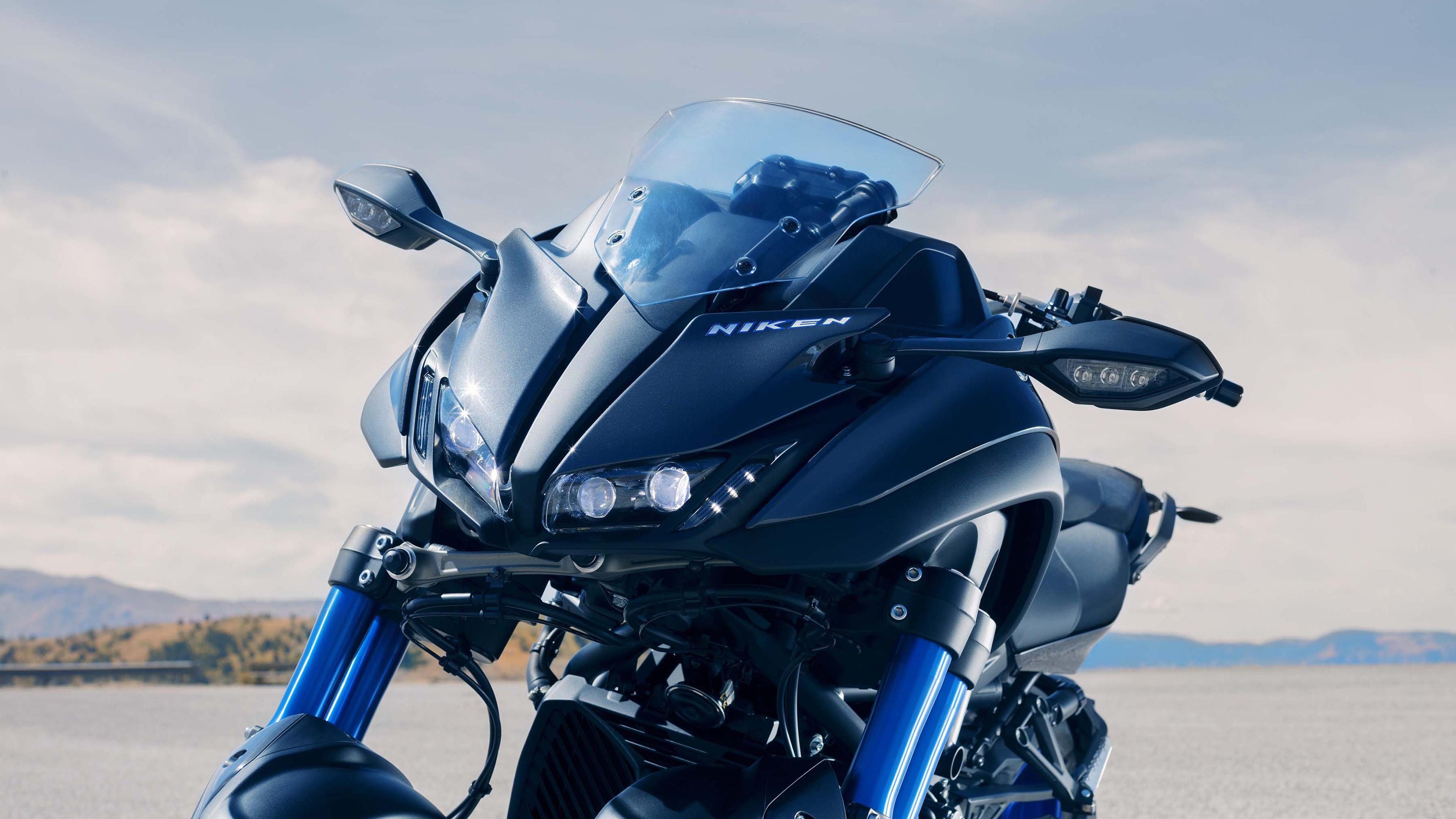 Download 3840x2400 Wallpaper 2019 Yamaha Niken Bike 4k