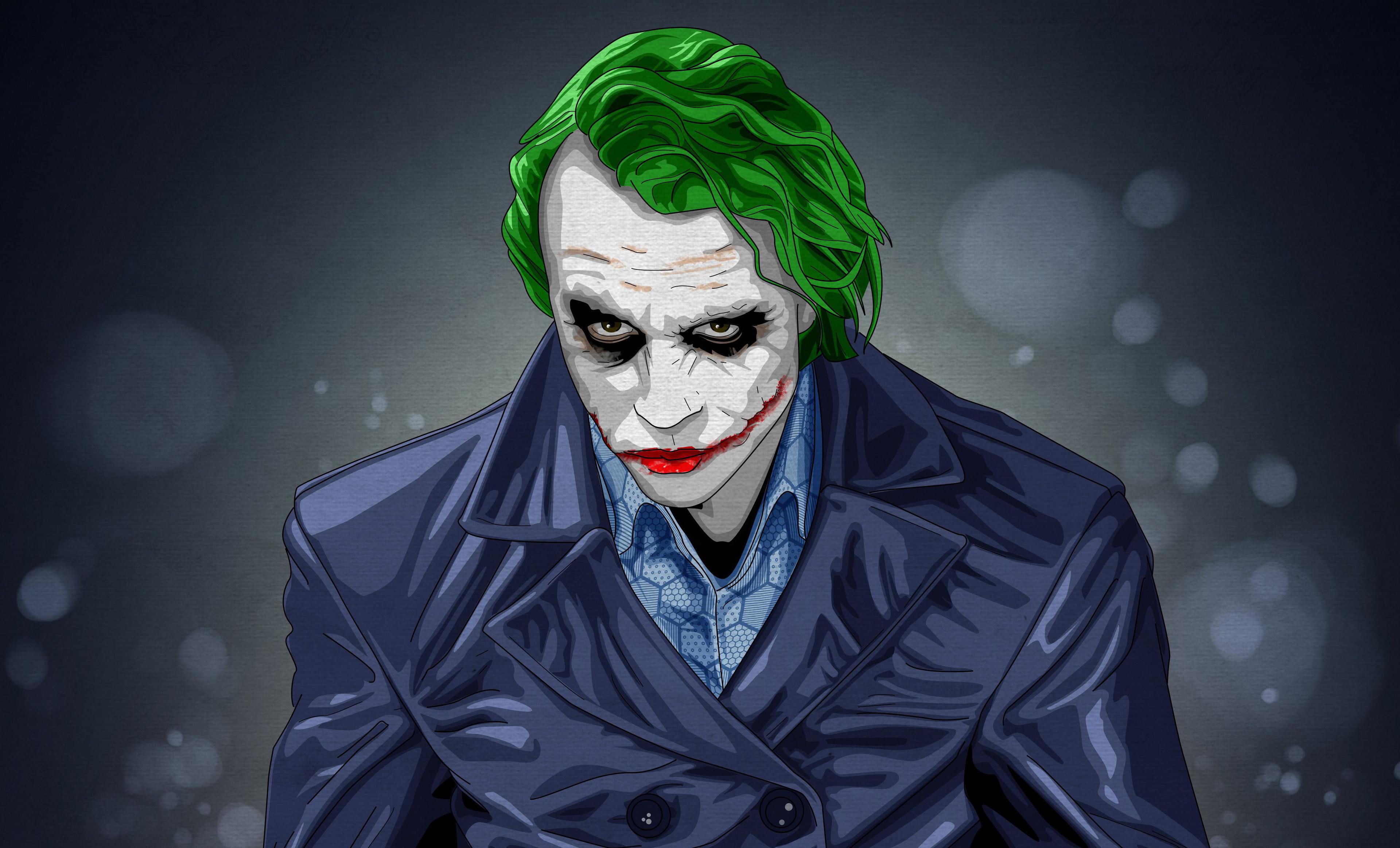 Download 3840x2400 Wallpaper Joker Notorious Villain