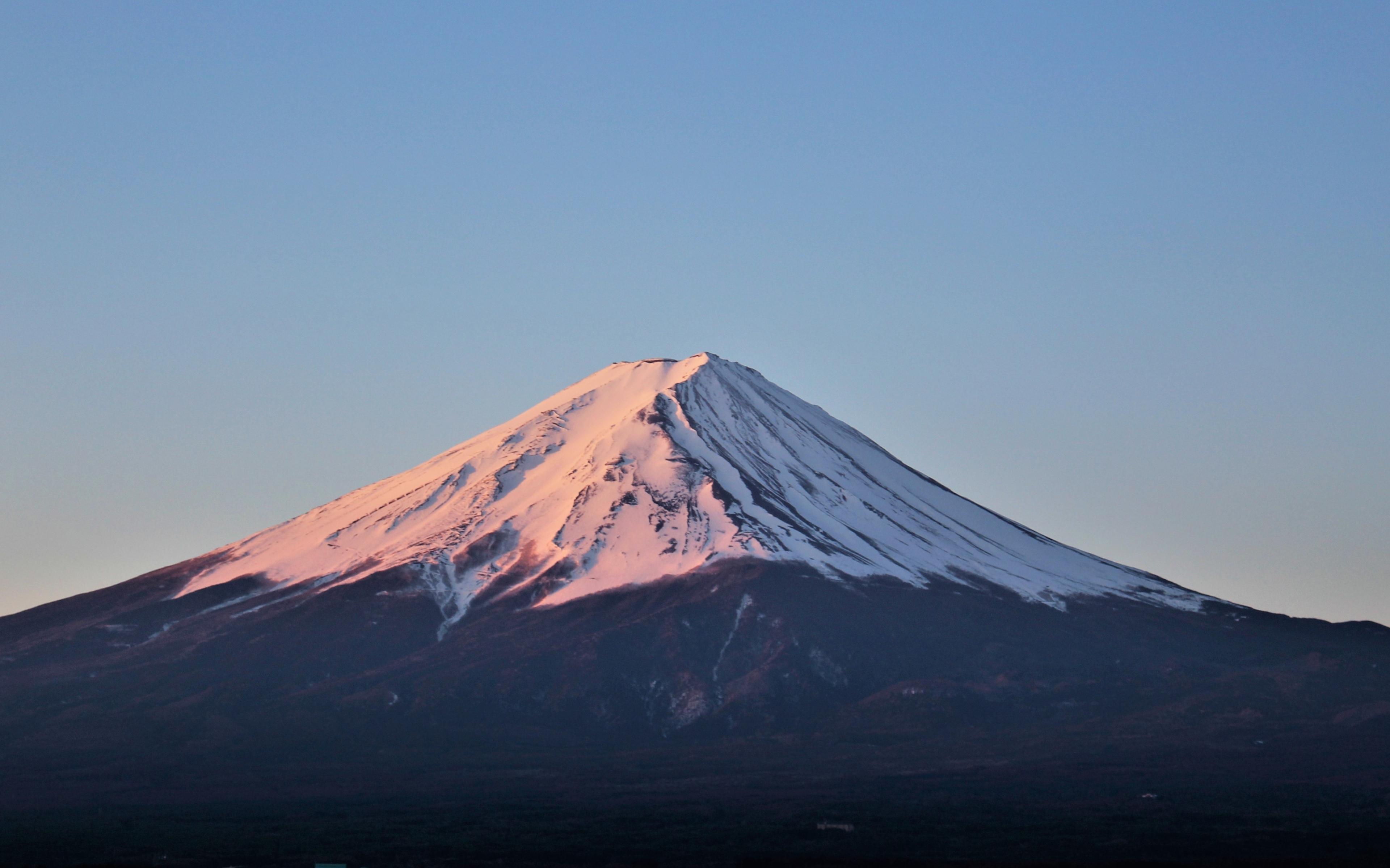 Download 3840x2400 Wallpaper Mount Fuji Peak Sky Mountain